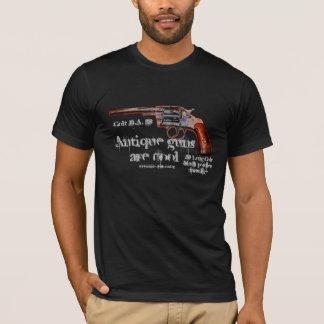 T-shirt antique frais de revolver