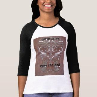 T-shirt aotearoa maori Nouvelle Zélande