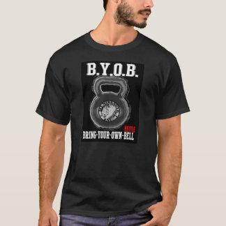 T-shirt Apportez votre propre chemise de Kettlebell
