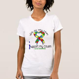 T-shirt Appui de l'autisme I mes cousins