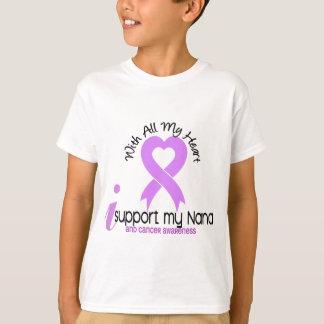 T-shirt Appui du CANCER I ma Nana