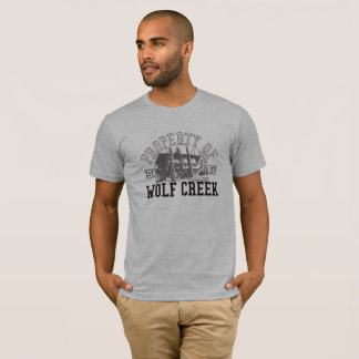 T-shirt Appui vertical de Wolf Creek - AmerApparel de base