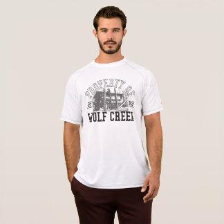 T-shirt Appui vertical de Wolf Creek - maille sèche du