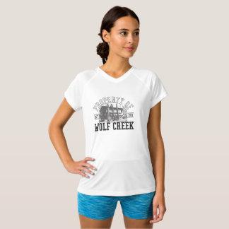 T-shirt Appui vertical de Wolf Creek - V-Cou Double-Sec de