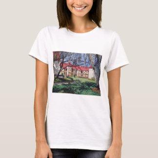 T-shirt Aquarelle de logement de Stephen