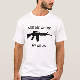 T-shirt AR-15, m'interrogent au sujet de mon AR-15