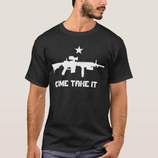 T-shirt AR-15 VIENNENT LUI PRENNENT la chemise