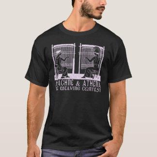 T-shirt Arachné contre Athéna