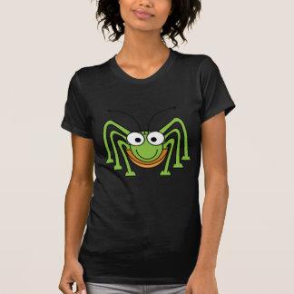 T-shirt Araignée verte mignonne