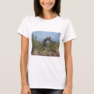 T-shirt Arbre bouclé de désert