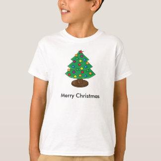 T-shirt Arbre de Noël à trois niveaux