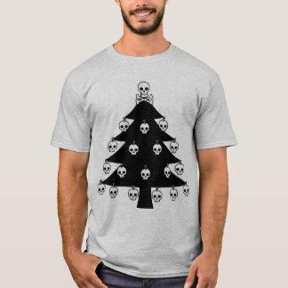 T-shirt Arbre de Noël de crâne