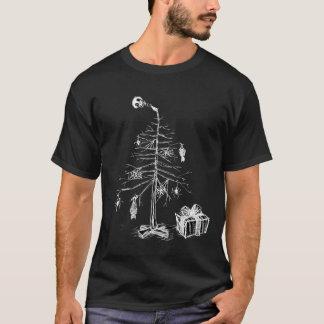 T-shirt Arbre de Noël gothique