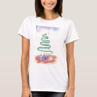 T-shirt Arbre de Noël par Wendy C. Allen