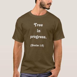 T-shirt Arbre en cours., (psaume 1 : 3)