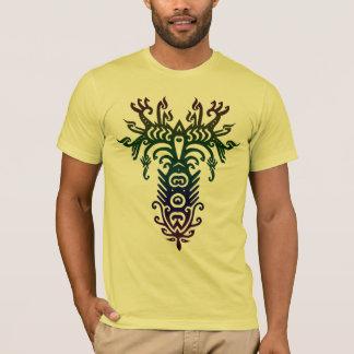 T-shirt arbre psychédélique