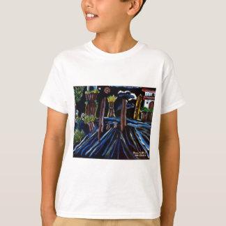 T-shirt Arbres électriques au néon