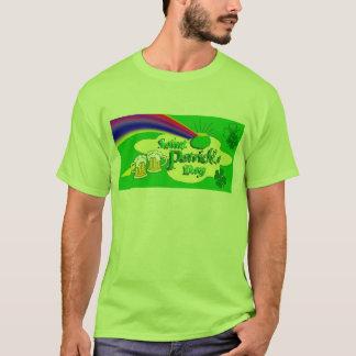 T-shirt Arc-en-ciel de jour de Patrick de saint