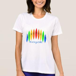 T-shirt Arc-en-ciel des kayaks