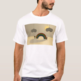 T-shirt Arc iris (rainbow)