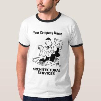 T-shirt architectural de bande dessinée de