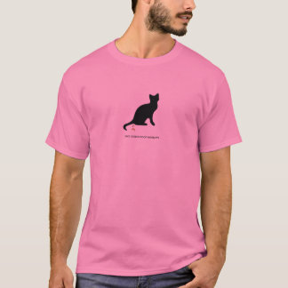 T-shirt Arcs-en-ciel de dunette de chatons