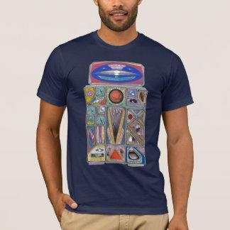 T-shirt Argent martien - _- bon ami Negatory - _- 2 robots