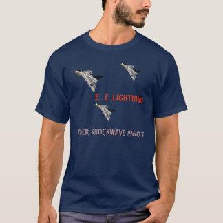 T-shirt Argent Shockwave de combattant de foudre '