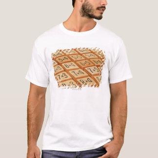 T-shirt Arithmétique. La multiplication chronomètre la