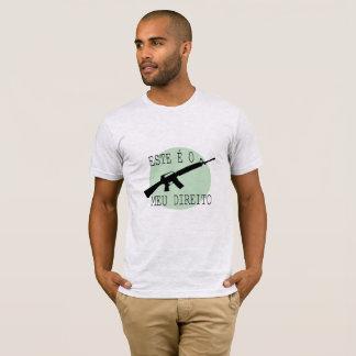 T-shirt Armes. Celui-ci est Mon droit