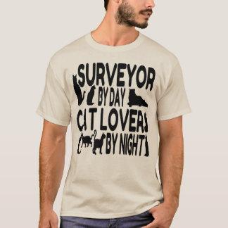 T-shirt Arpenteur d'amoureux des chats