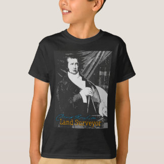 T-shirt Arpenteur de terre de David Thompson