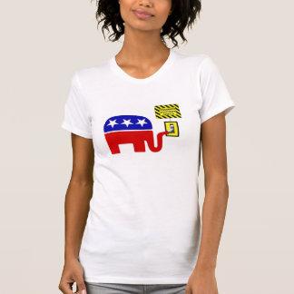 T-shirt Arrêt 2011 de gouvernement de Rebuplican