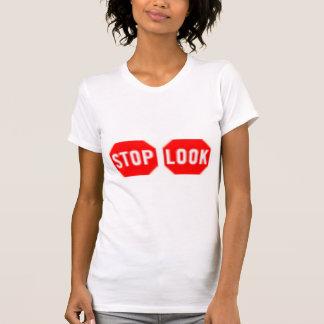T-shirt Arrêt ! Regardez !