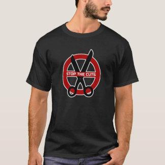 T-shirt Arrêtez l'Anti-Austérité de coupes