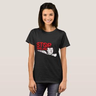 T-shirt Arrêtez le logo de canalisation