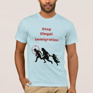 T-shirt Arrêtez l'immigration illégale