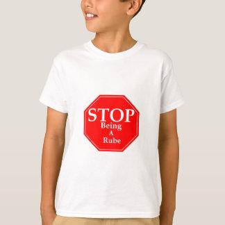 T-shirt Arrêtez Rubeness