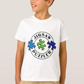 T-shirt Arrière - plan denteux d'espace libre d'énigme