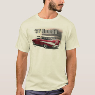 T-shirt Art 1957 d'automobile de NOMADE de Chevrolet