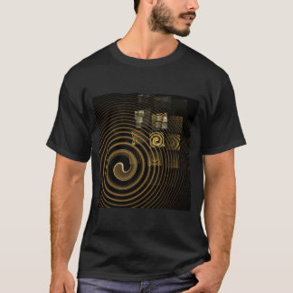 T-shirt Art abstrait d'hypnose