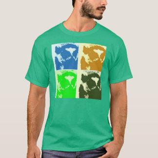 T-shirt Art de bruit de lémur