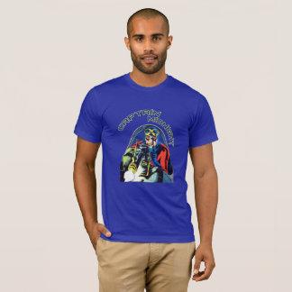 T-shirt Art de couverture de bande dessinée de super héros