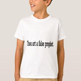 T-shirt Art de mille un prophète faux