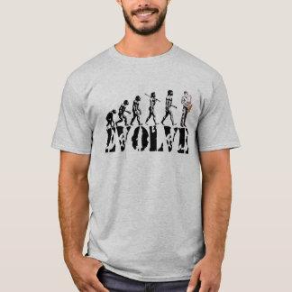 T-shirt Art de musical d'évolution de saxo de saxophone