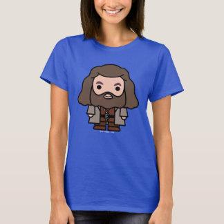 T-shirt Art de personnage de dessin animé de Hagrid