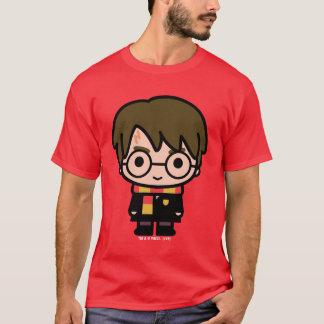 T-shirt Art de personnage de dessin animé de Harry Potter