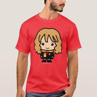 T-shirt Art de personnage de dessin animé de Hermione