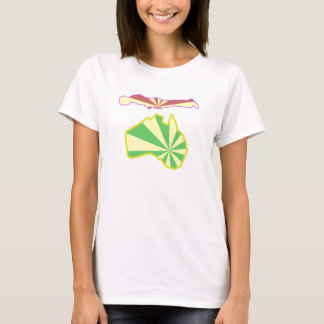 T-shirt Art de Planking