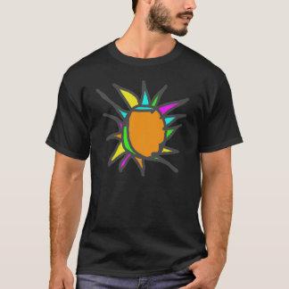 T-shirt Art de Sun en verre souillé